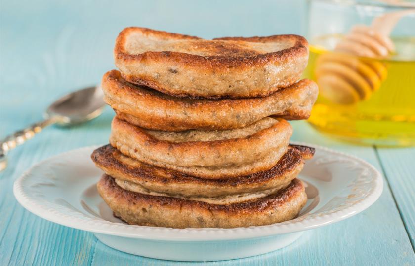 Chia Pancakes mit Bananen Rezept