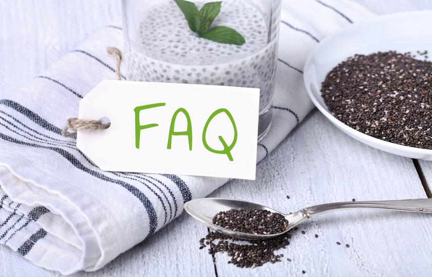 Fragen über Chia Samen